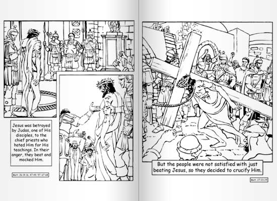 Conversion Of Saul Coloring Page